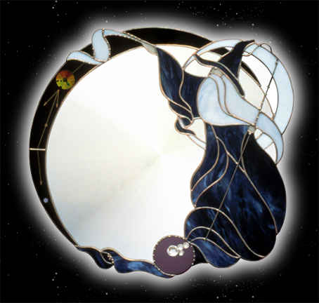Super Wizard Mirror - Fantasy Fine Art Wall Mirrors by Contois Reynolds  TO45